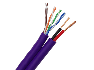 UTP CAT5E+2C CCTV SIAMESE Cable